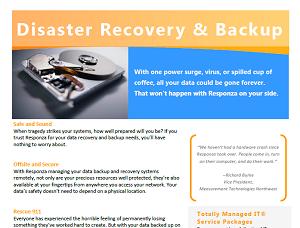 Responza Backup Datasheet